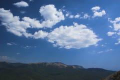cloudes niebo Fotografia Royalty Free
