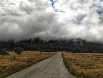 Cloudfall стоковая фотография