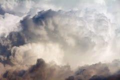 Cloudin de cumulus le ciel photos stock