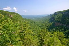Cloudland Canyon 5 Royalty Free Stock Photography
