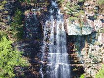 Cloudland Canyon Waterfall. Royalty Free Stock Photo