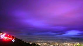 cloudly下午在bukit moko 免版税库存图片