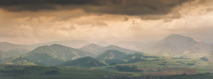 Cloudly天在马丁 免版税图库摄影
