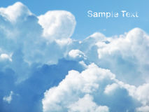 cloudly небо Стоковые Фотографии RF
