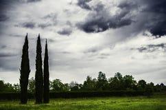 Cloudly dag Arkivfoton