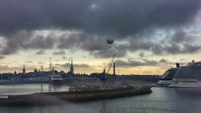 Cloudly-Hafen Lizenzfreies Stockbild