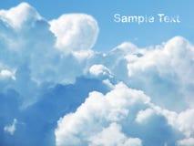 Cloudly Himmel Lizenzfreie Stockfotos