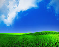 cloudly krajobrazowy niebo Zdjęcie Royalty Free
