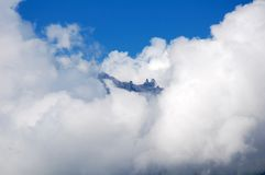 Cloudly mountain Stock Photography