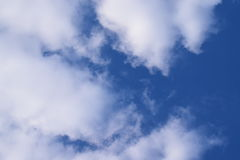 cloudly niebo Zdjęcia Royalty Free