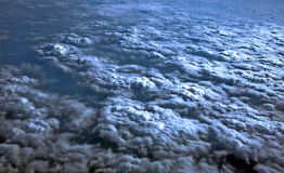 Clouds. Cloud picture taken from a plane royalty free stock image