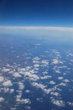 Clouds. Seen from the plane Royalty Free Stock Photo