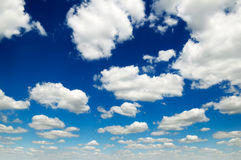 Clouds. Sky covered by a clouds Royalty Free Stock Image