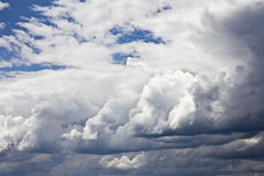 Clouds. Heavy gale dark stormy clouds royalty free stock photos