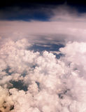 Clouds. Aerial view royalty free stock photos
