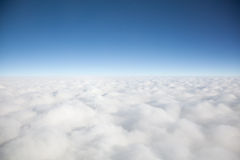 Clouds. And blue sky taken on fine day Royalty Free Stock Photo