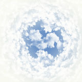 Clouds. Abstract background of white clouds Royalty Free Stock Photo