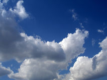 Clouds 2. Cloudy sky on a sunny day Stock Photo