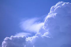 Clouds. Taken around my house in Malaysia Stock Photography