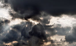 Clouds. Photo of clouds and sky Royalty Free Stock Image