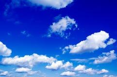 The clouds. Stock Photos
