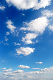 Clouds 26. White clouds on blue sky Stock Photography