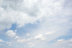 Clouds. Bright clouds on blue sky Royalty Free Stock Photo