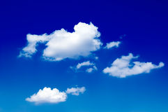 The clouds. Stock Photo