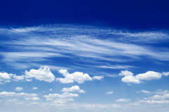 The clouds. Royalty Free Stock Images