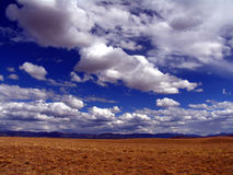 Clouds. Over Colorado open space Royalty Free Stock Photos