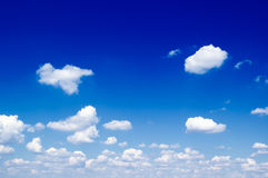 The clouds. Royalty Free Stock Photos