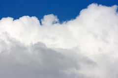 Clouds. Day. Clouds in the sky royalty free stock images