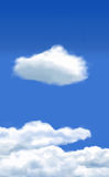 Clouds. Vector Clouds - Created using Illustrator mesh tool - Resolution independent Stock Illustration