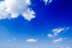 The clouds. Stock Photography