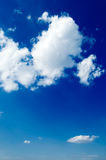 The clouds royalty free stock images