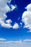 The clouds. Stock Images