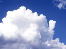 Clouds. Beautiful clean sky plenty of luffy clouds Stock Photography