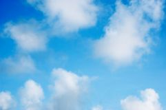 Clouds. And sky background wallpaper Stock Images