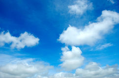 Clouds. Landscape - sky with clouds pattern