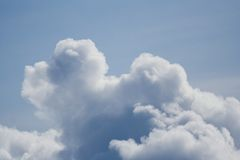 Clouds. Puffy clouds Stock Image
