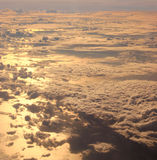 Clouds. Watch the clouds from the other side! Taken from 31000 feet Stock Images
