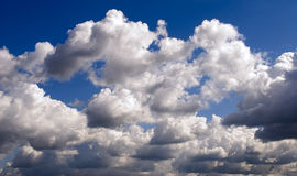 Clouds. Beautiful clouds wallpaper. Horizontal picture stock photos