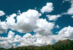 CLOUDS. In Arizona, Flagstaff area Royalty Free Stock Photography