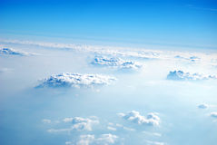 Clouds from above, 2008. Watching clouds and sky from above, 2008 Royalty Free Stock Image