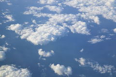 Clouds from Above Royalty Free Stock Photos