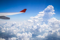 Clouds from above Royalty Free Stock Images