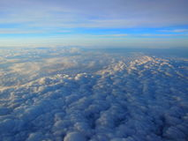 Clouds from Above Stock Photos