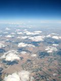 Clouds above horizon. Landscape view of clouds above horizon Royalty Free Stock Photo