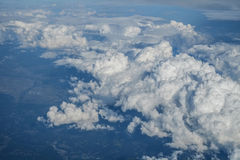 Clouds above Japan Royalty Free Stock Image