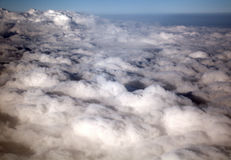 Clouds above Japan Royalty Free Stock Photography